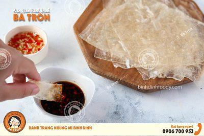 Bánh Tráng Mì Bình Định