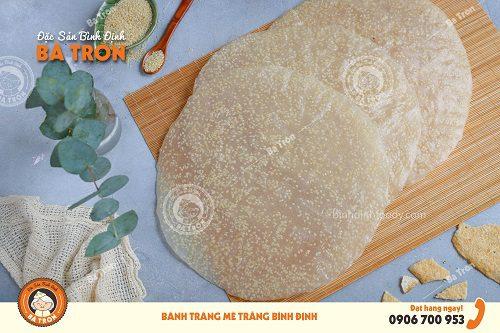 Mè trắng nướng Bình Định