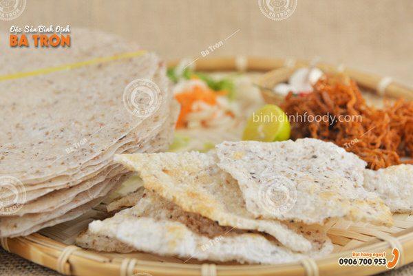 Bánh tráng nước dừa Tam Quan Bình Định