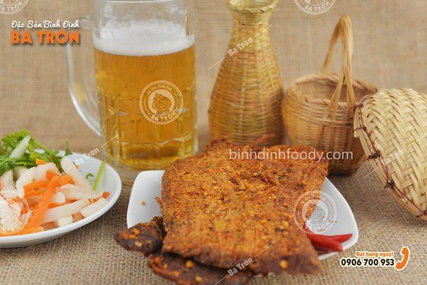 Khô bò miếng Bình Định