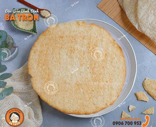 Bánh Trắng Mè Trắng Nướng Sẵn Bình Định