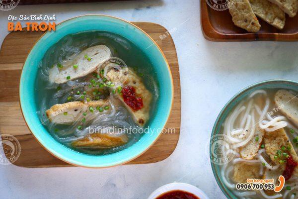 cách làm bánh canh mì Bình Định